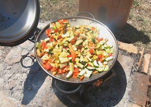 Wok s povrćem